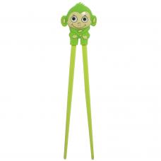 "Training Chopsticks 7""L - Green Monkey"