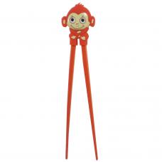 "Training Chopsticks 7""L - Red Monkey"