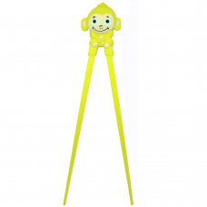 "Training Chopsticks 7""L - Yellow Monkey"